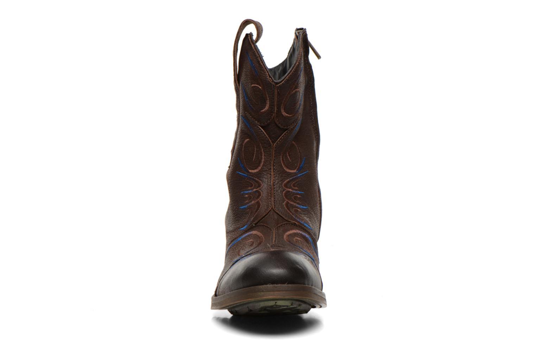 Bottines et boots Dkode Jonas Marron vue portées chaussures