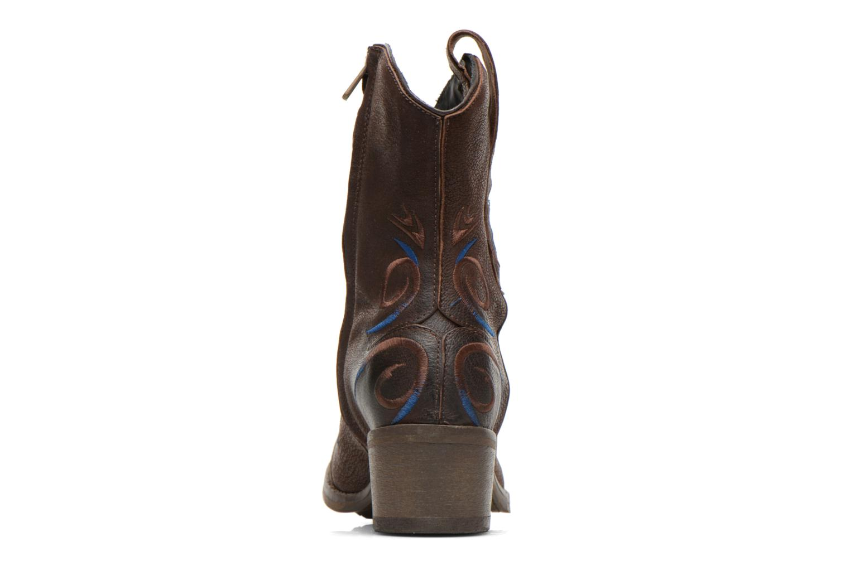 Bottines et boots Dkode Jonas Marron vue droite