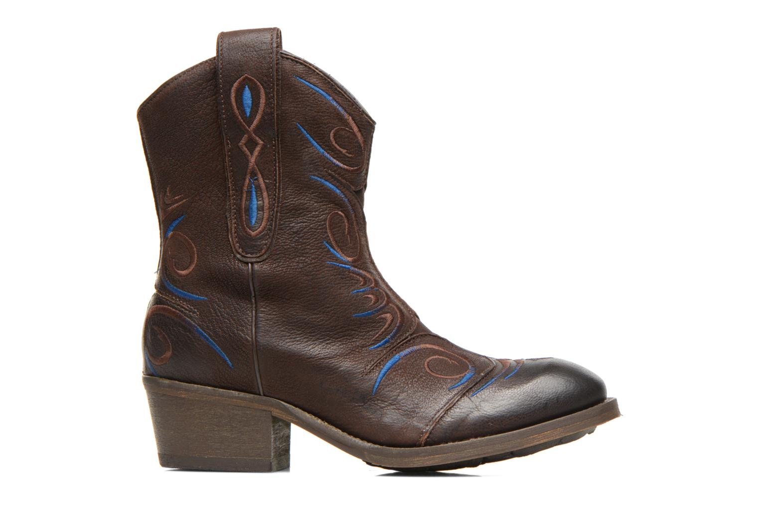 Ankle boots Dkode Jonas Brown back view