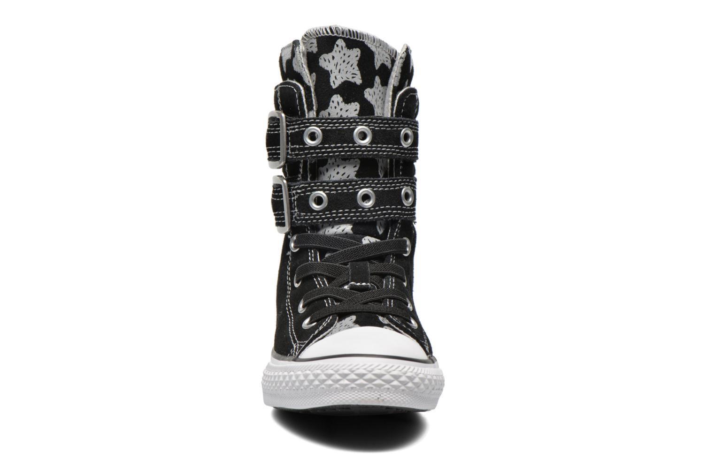 Bottines et boots Converse Chuck Taylor Bb Animal Glendale X-Hi Noir vue portées chaussures