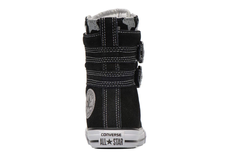 Bottines et boots Converse Chuck Taylor Bb Animal Glendale X-Hi Noir vue droite