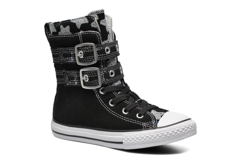 Bottines et boots Converse Chuck Taylor Bb Animal Glendale X-Hi Noir vue détail/paire