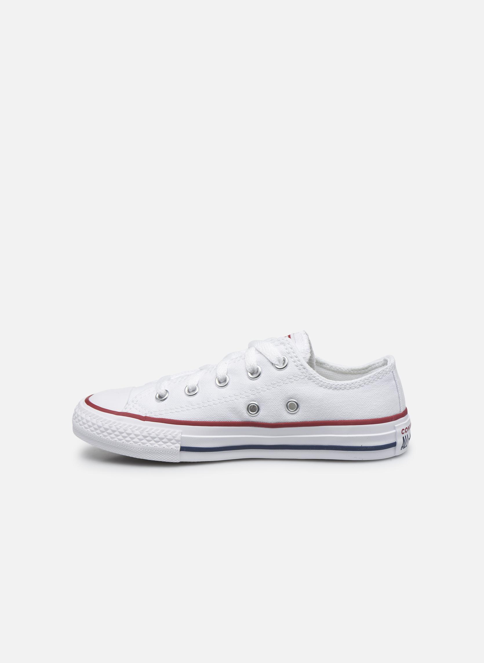 Sneaker Converse Chuck Taylor All Star Core Ox weiß ansicht von vorne