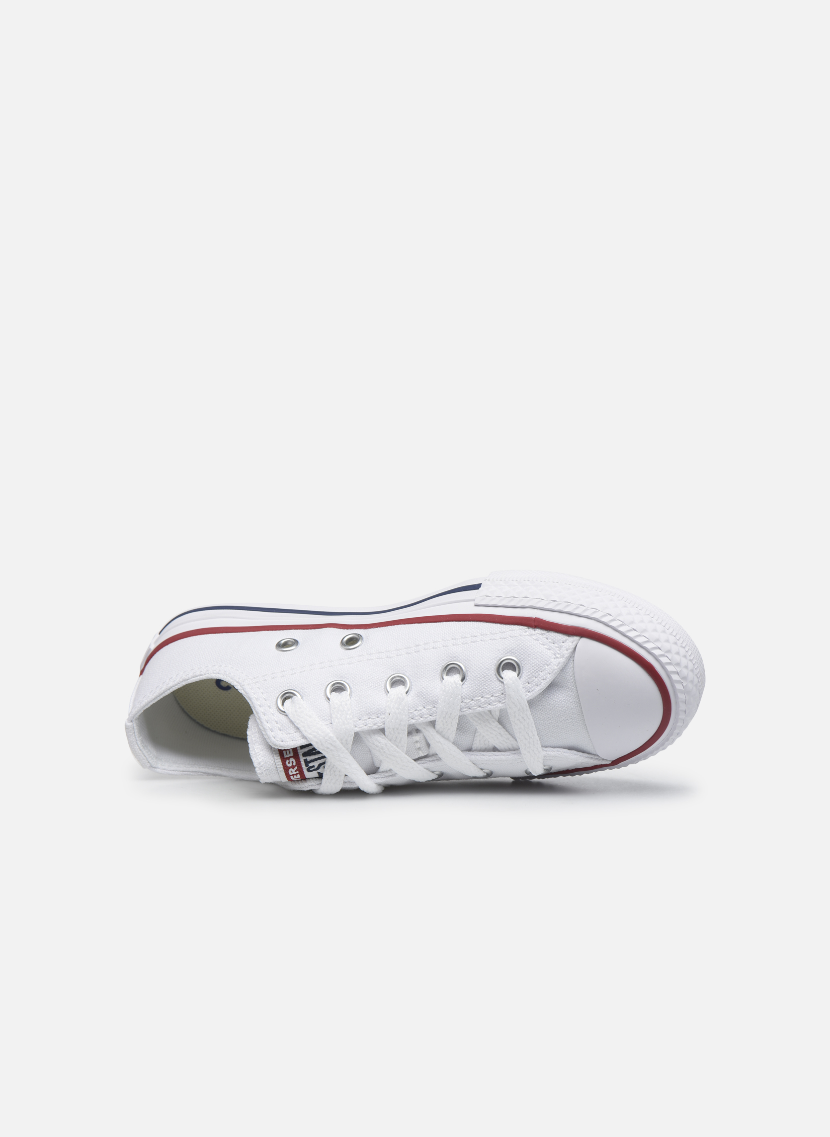 Sneakers Converse Chuck Taylor All Star Core Ox Bianco immagine sinistra