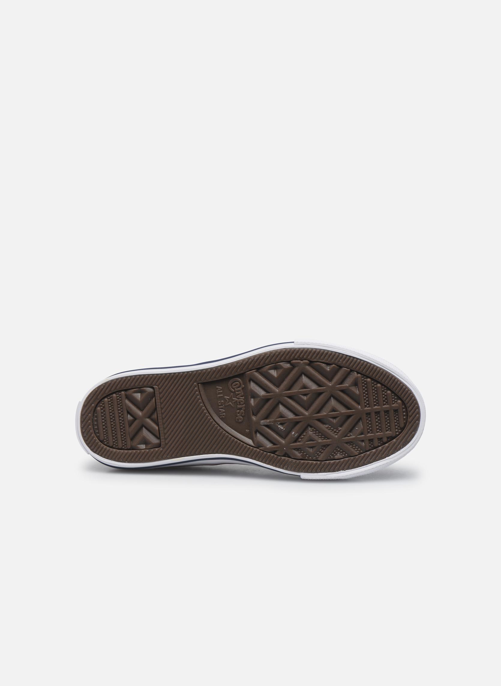 Sneakers Converse Chuck Taylor All Star Core Ox Bianco immagine dall'alto