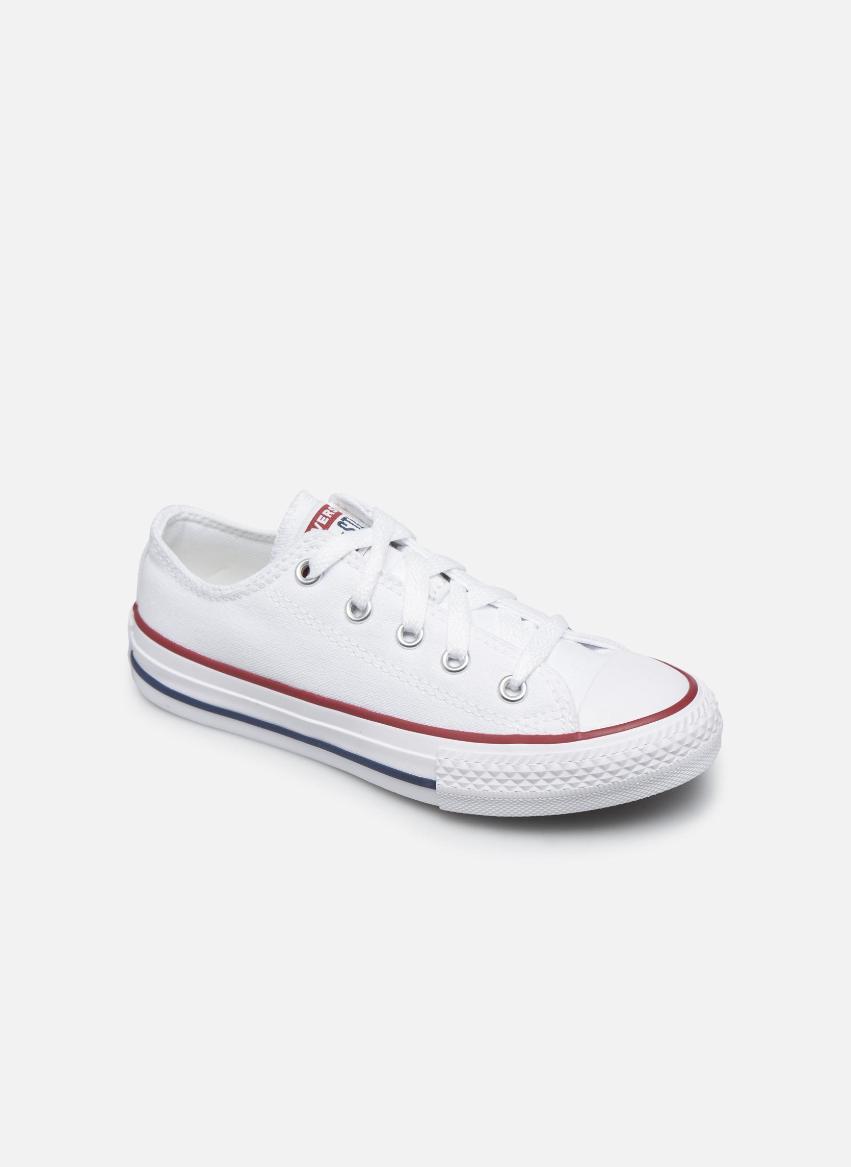 Sneaker Converse Chuck Taylor All Star Core Ox weiß detaillierte ansicht/modell