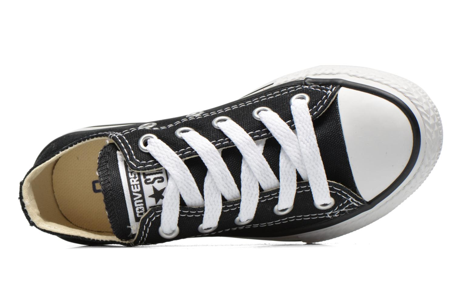 Trainers Converse Chuck Taylor All Star Core Ox Black view from the left