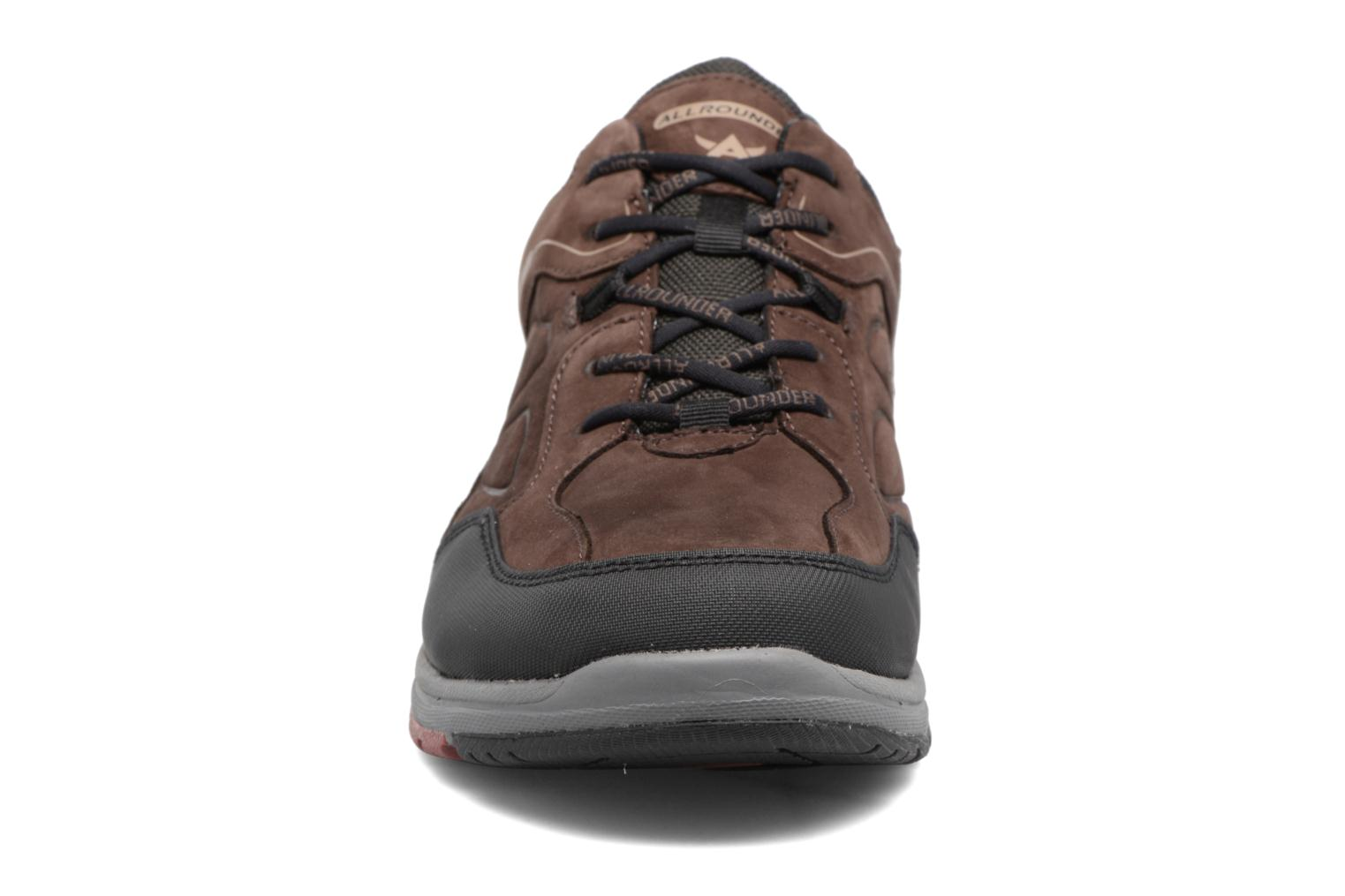 Baskets Allrounder by Mephisto Caletto Tex Marron vue portées chaussures