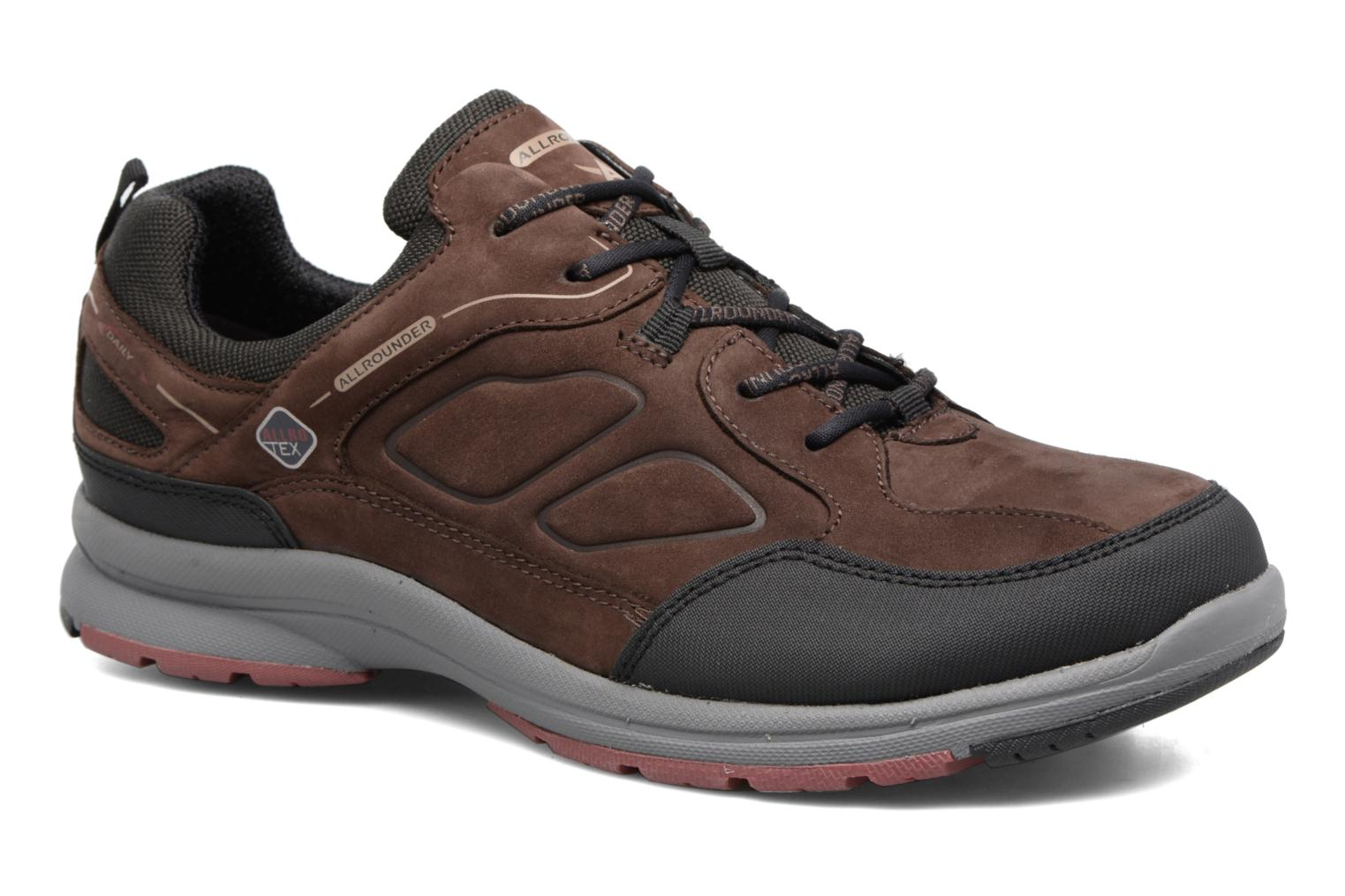 Baskets Allrounder by Mephisto Caletto Tex Marron vue détail/paire