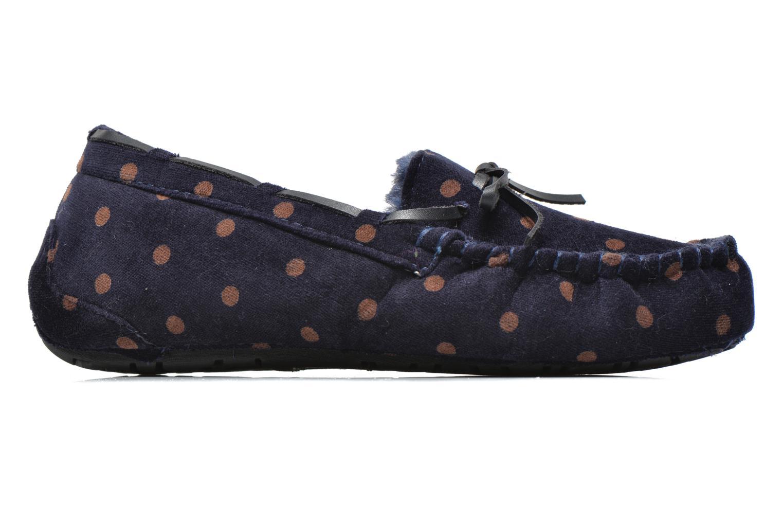 Pantofole Ruby Brown Mae Azzurro immagine posteriore