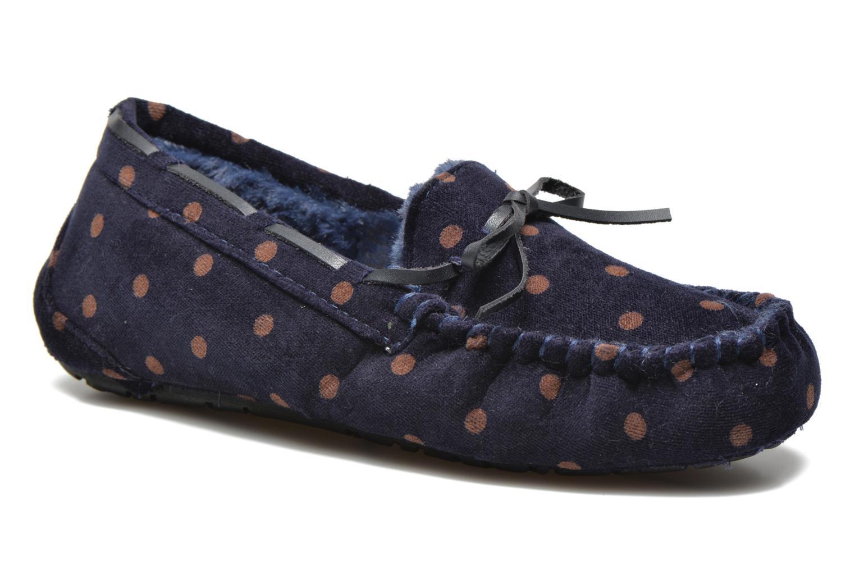 Pantofole Ruby Brown Mae Azzurro vedi dettaglio/paio