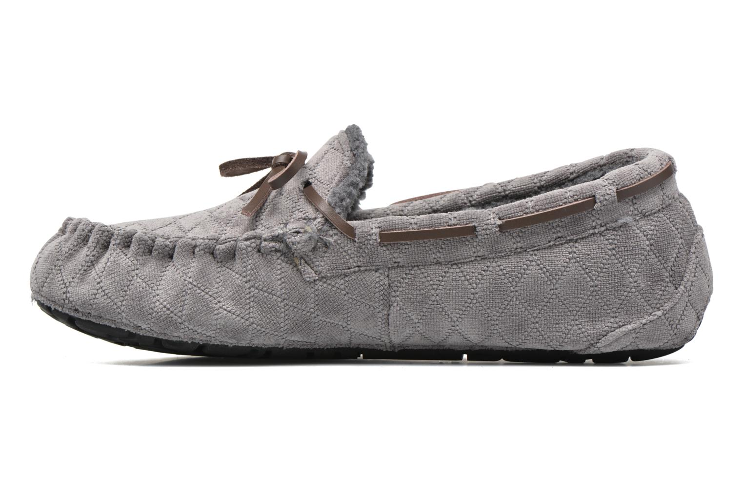 Slippers Ruby Brown John Grey front view