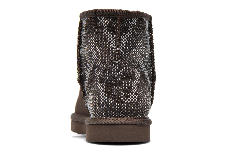 Bottines et boots Colors of California Elina Marron vue droite