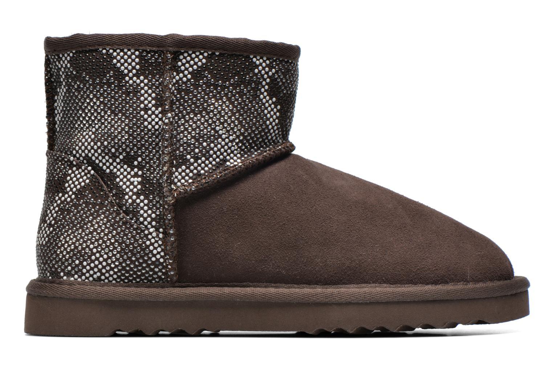 Bottines et boots Colors of California Elina Marron vue derrière
