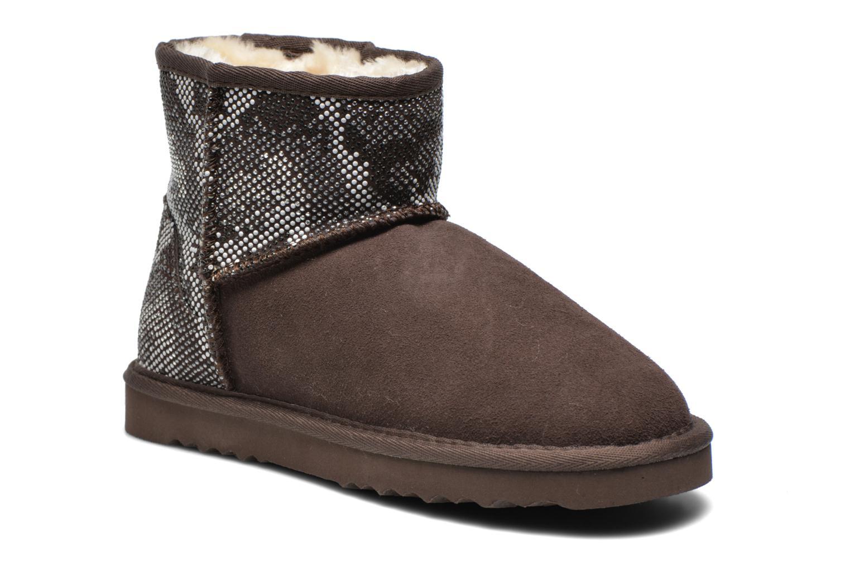 Bottines et boots Colors of California Elina Marron vue détail/paire