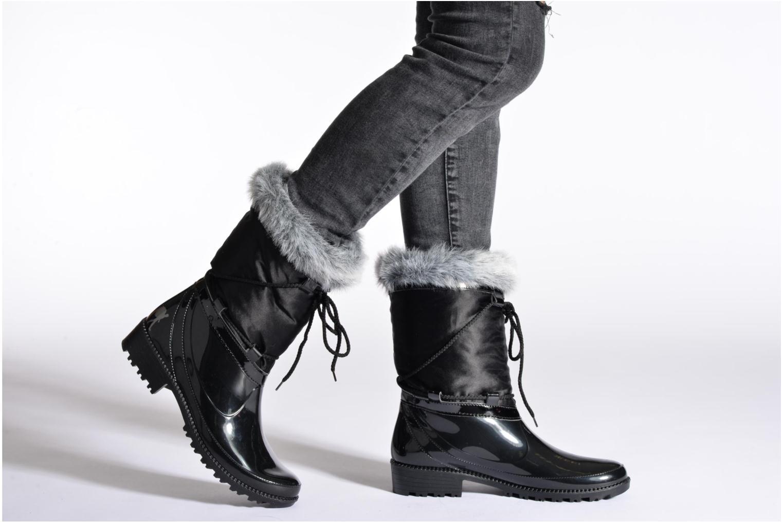 Stiefeletten & Boots Le Routard RD.23.Razaty schwarz ansicht von unten / tasche getragen