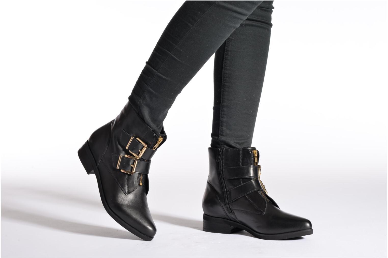 Stiefeletten & Boots SPM Bulovo schwarz ansicht von unten / tasche getragen
