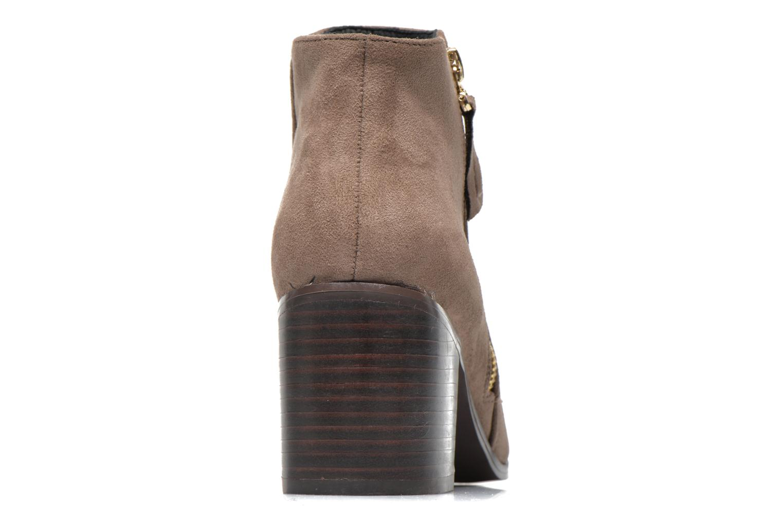Bottines et boots La Strada Nelly Marron vue droite