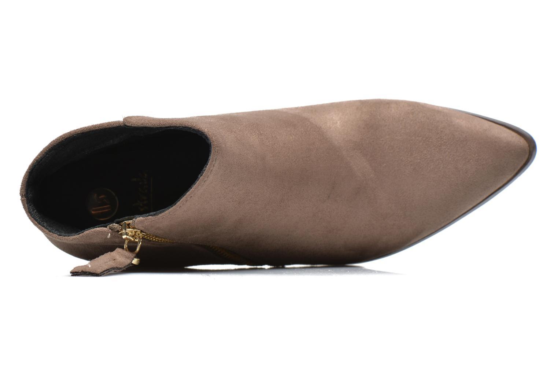 Bottines et boots La Strada Nelly Marron vue gauche