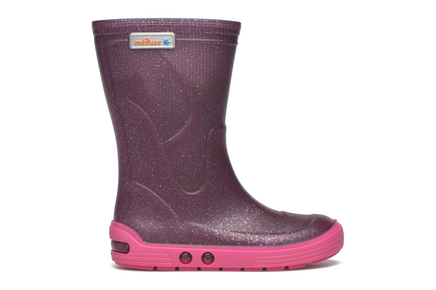 Boots & wellies Méduse Airbus Purple back view