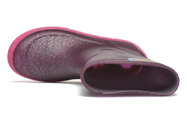 Bottes Méduse Airbus Violet vue gauche