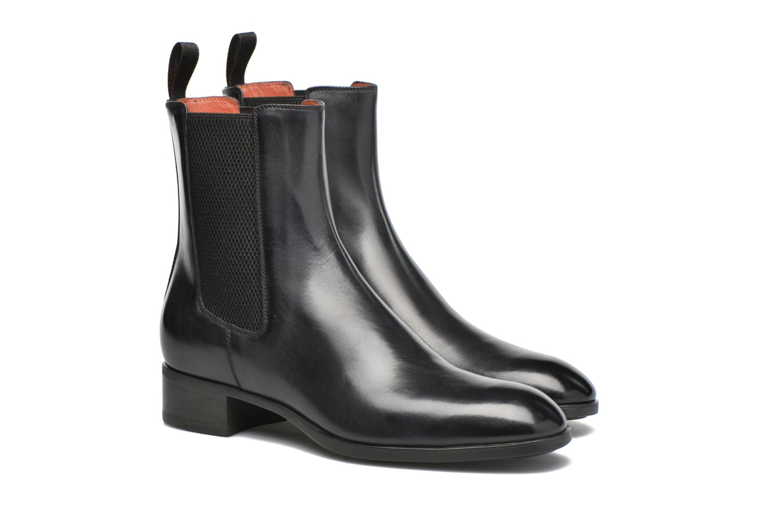 Ankle boots Santoni Elodie 53554 Grey 3/4 view