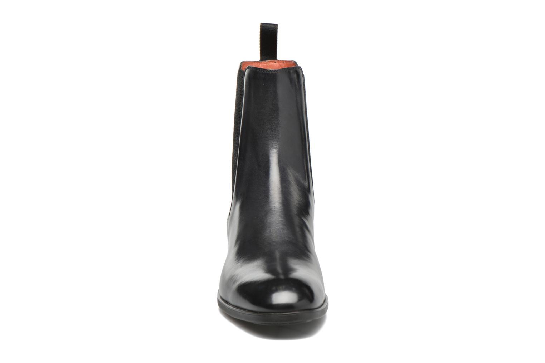 Bottines et boots Santoni Elodie 53554 Gris vue portées chaussures