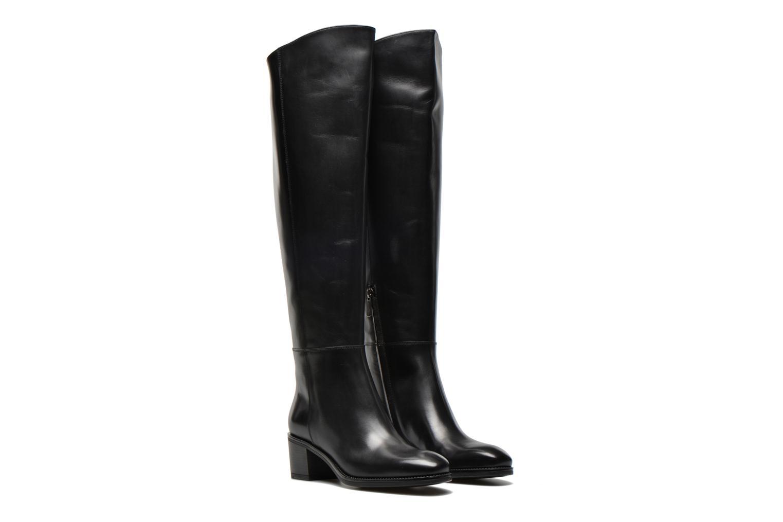 Boots & wellies Santoni Funny 53436 Black 3/4 view