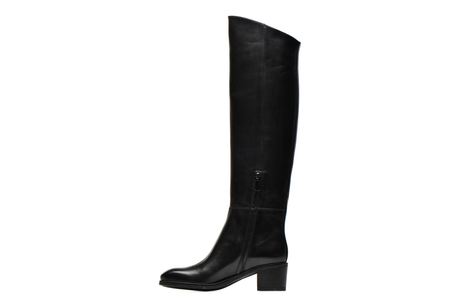 Boots & wellies Santoni Funny 53436 Black front view