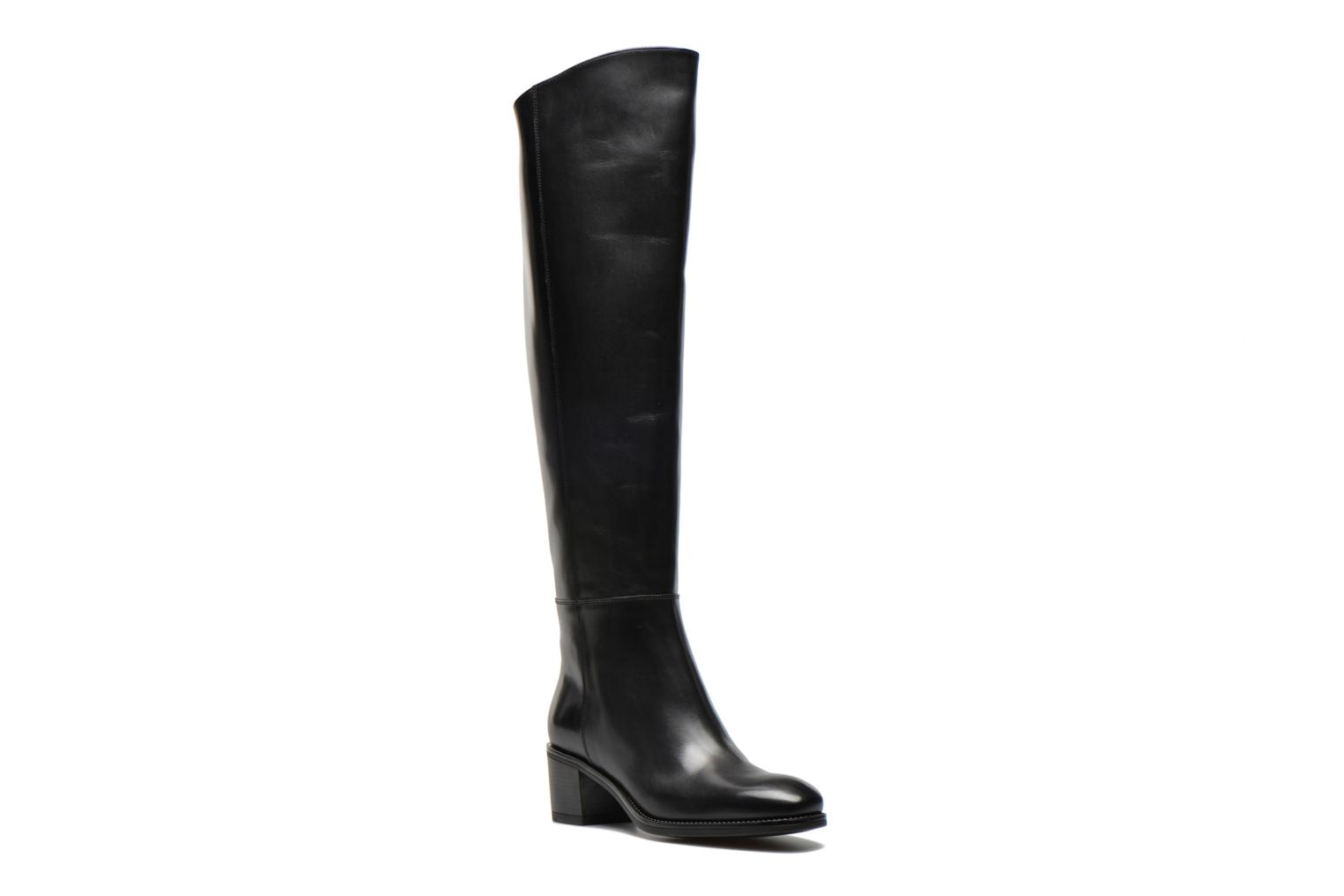 Boots & wellies Santoni Funny 53436 Black detailed view/ Pair view
