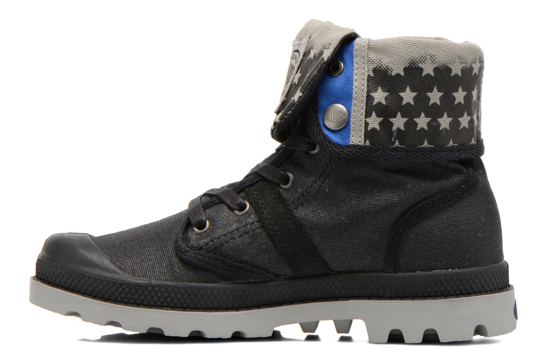 Boots en enkellaarsjes Palladium Baggy Wax K Zwart voorkant