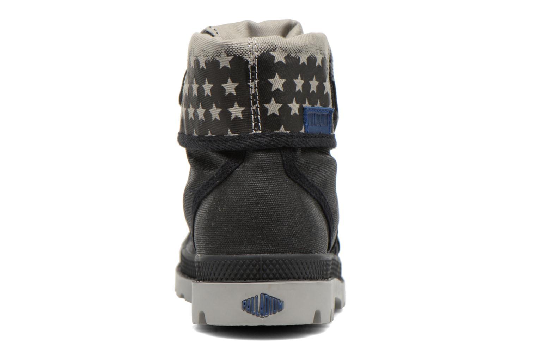 Stiefeletten & Boots Palladium Baggy Wax K schwarz ansicht von rechts