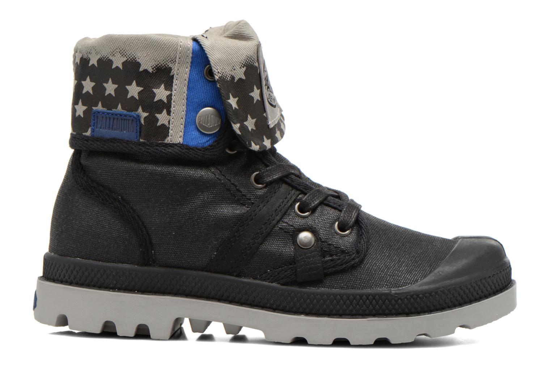 Stiefeletten & Boots Palladium Baggy Wax K schwarz ansicht von hinten