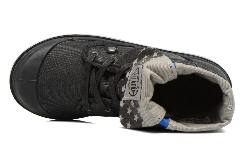 Boots en enkellaarsjes Palladium Baggy Wax K Zwart links