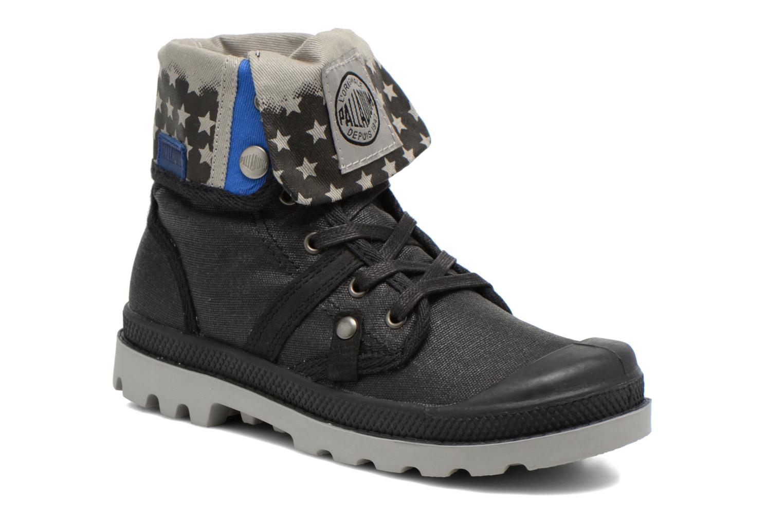 Boots en enkellaarsjes Palladium Baggy Wax K Zwart detail