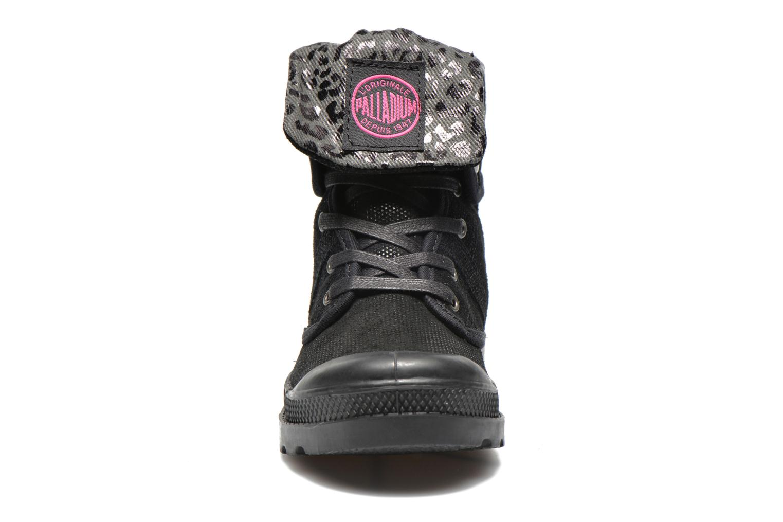 Bottines et boots Palladium Baggy Fl K Noir vue portées chaussures
