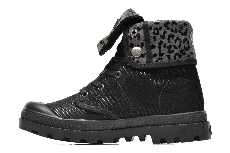 Boots en enkellaarsjes Palladium Baggy Fl K Zwart voorkant
