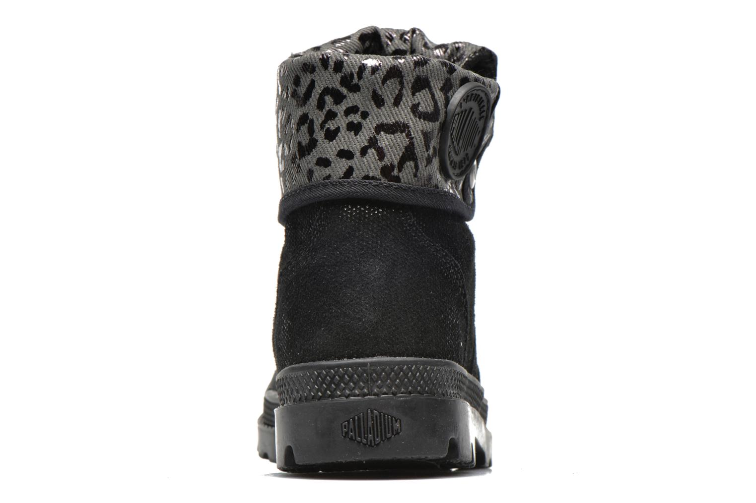 Ankle boots Palladium Baggy Fl K Black view from the right