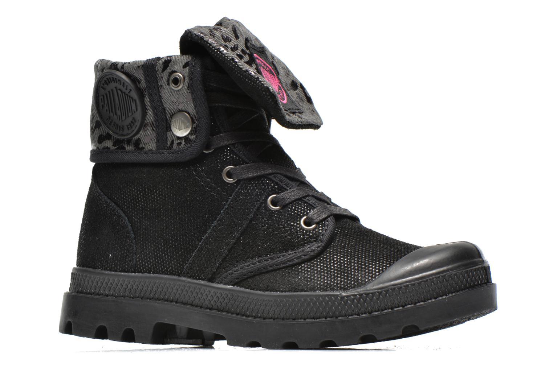 Boots en enkellaarsjes Palladium Baggy Fl K Zwart achterkant