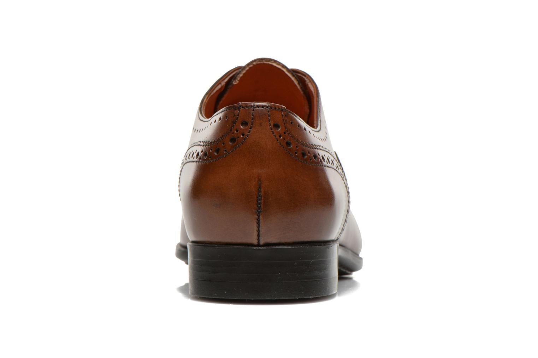 Scarpe con lacci Santoni William 14431 Marrone immagine destra