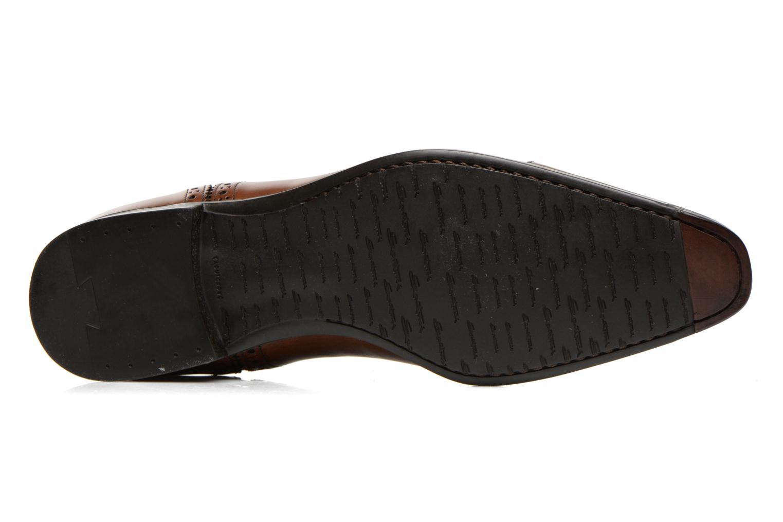 Scarpe con lacci Santoni William 14431 Marrone immagine dall'alto