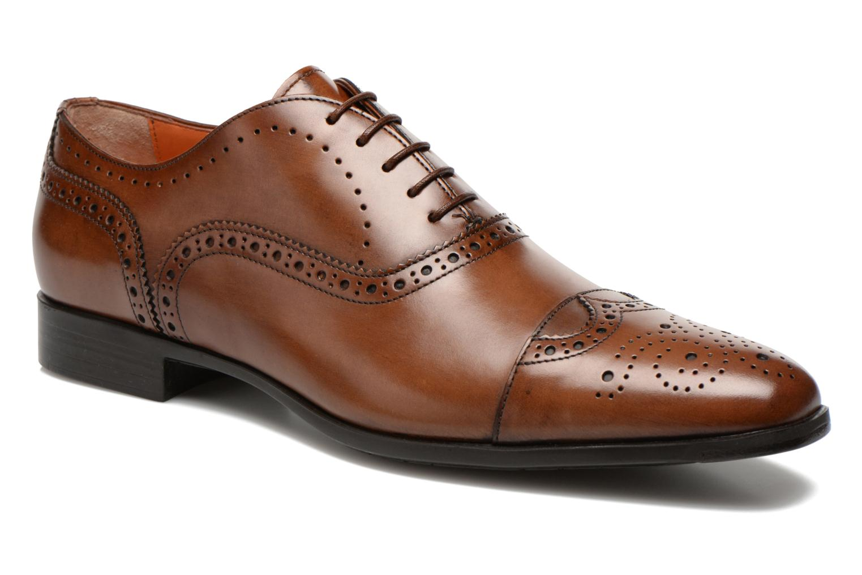 Scarpe con lacci Santoni William 14431 Marrone vedi dettaglio/paio