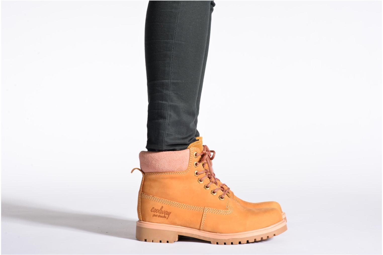 Boots en enkellaarsjes Coolway Basil Bruin onder