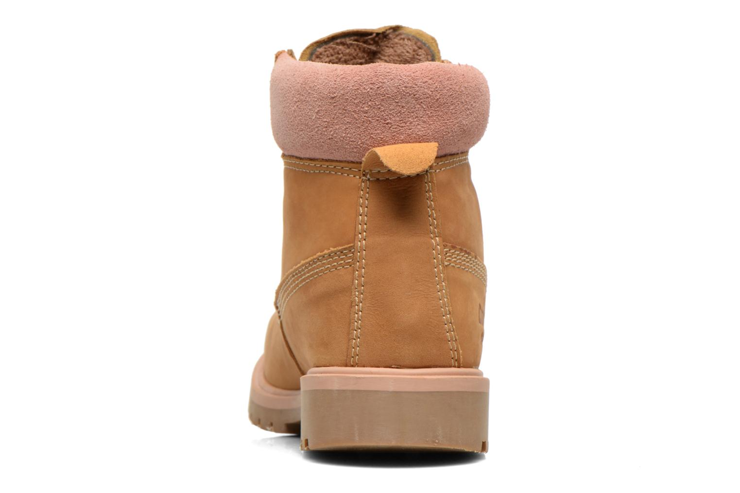Ankle boots Coolway Basil Brown view from the right