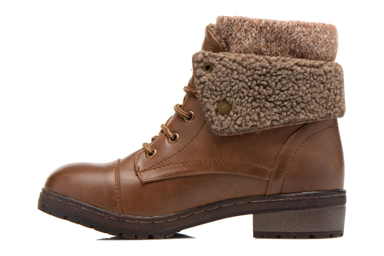 Bottines et boots Coolway Bring Marron vue face