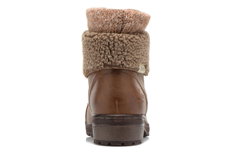 Bottines et boots Coolway Bring Marron vue droite