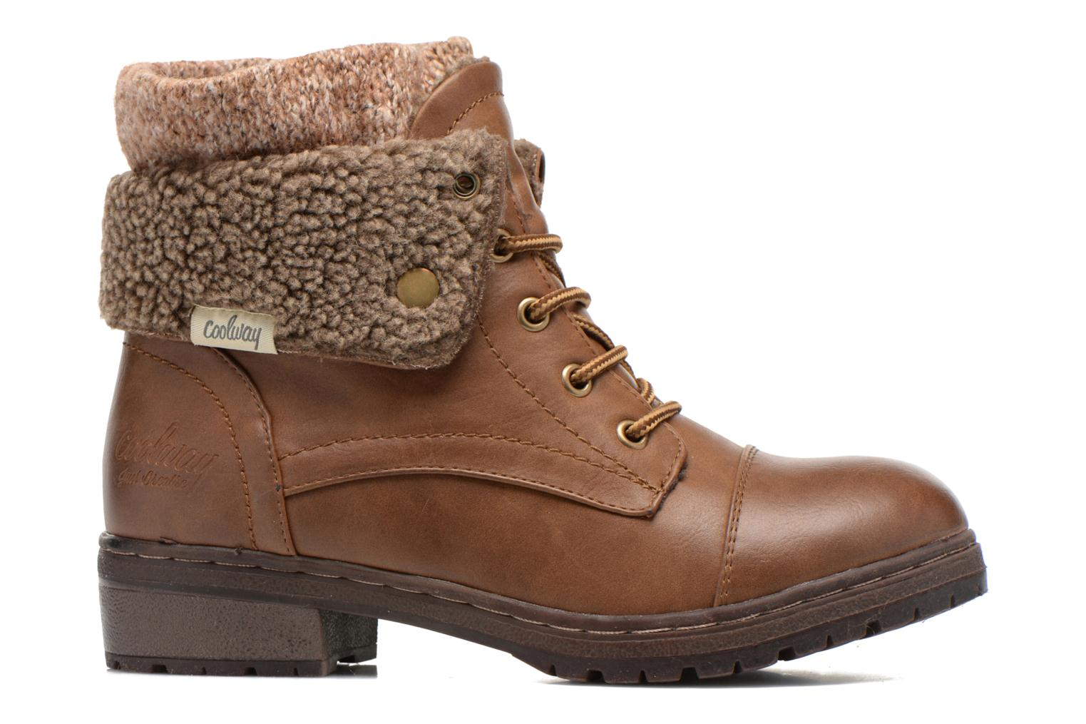 Ankle boots Coolway Bring Brown back view