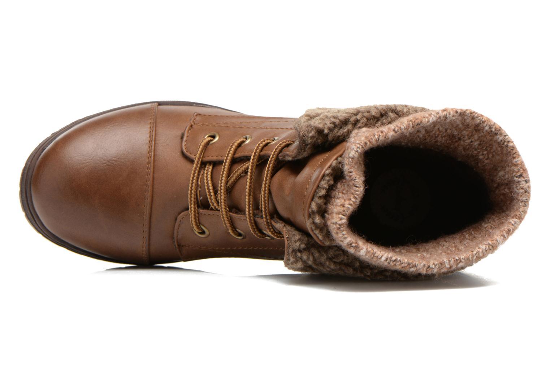 Bottines et boots Coolway Bring Marron vue gauche