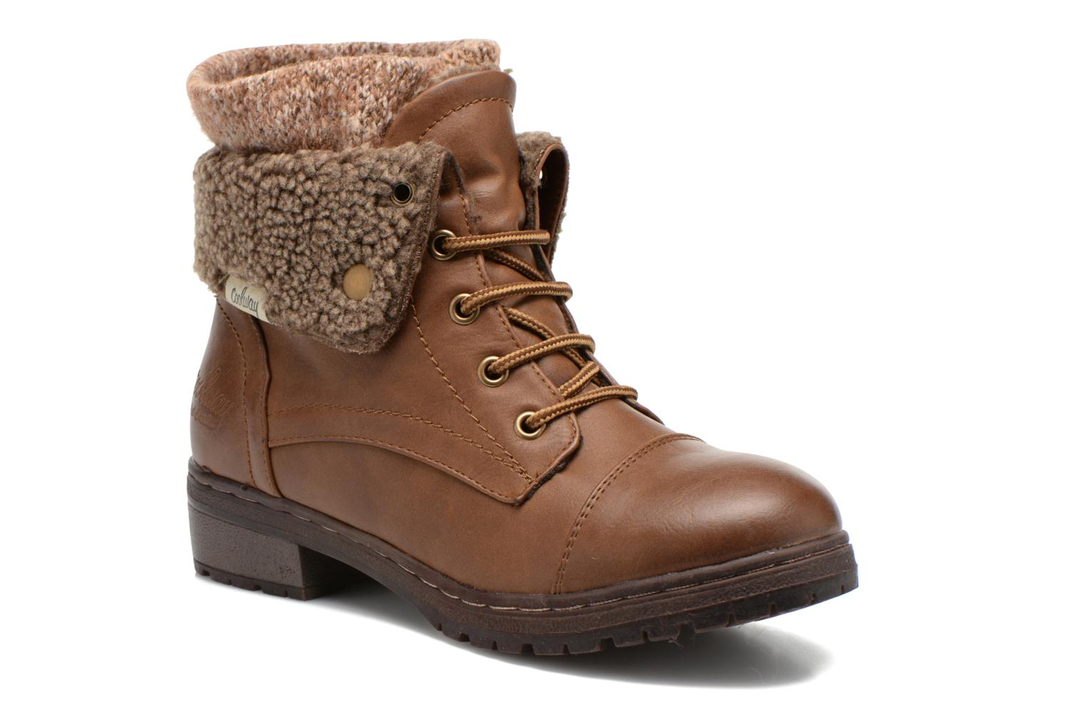 Ankle boots Coolway Bring Brown detailed view/ Pair view