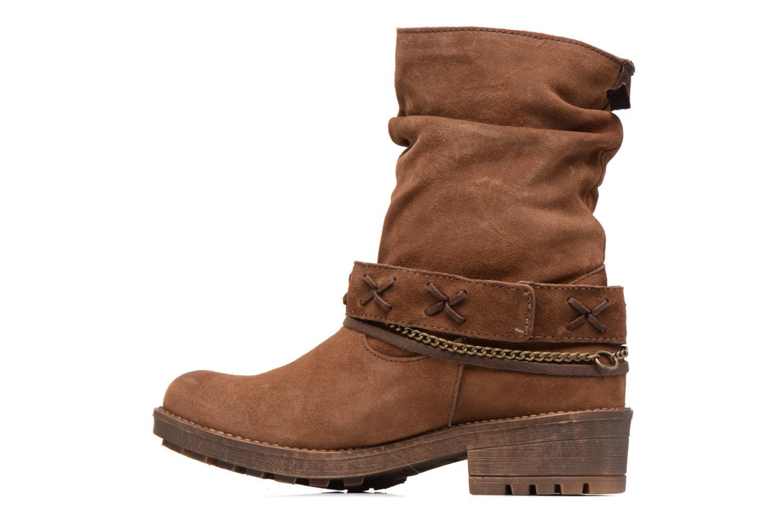 Stiefeletten & Boots Coolway Angus braun ansicht von vorne